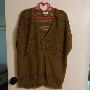 Old navy short sleeve sweater